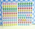 【震撼精品百貨】Hello Kitty 凱蒂貓~KITTY貼紙-心情貼紙-彩色(黃誕生日)