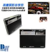 【 HM202神秘黑】AllCast車用/家用 多功能蘋果及安卓鏡像影音轉換盒(加送6大好禮)