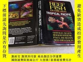 二手書博民逛書店Reef罕見Fish Identification - Tropical Pacific(以圖為準)Y1571