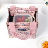 保溫飯盒袋加厚鋁箔防水帆布放飯盒包方手拎包餐盒便當袋子手提袋