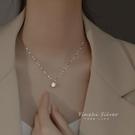 項鍊 925純銀項鍊輕奢小眾2021年新款女設計感精致鎖骨鍊夏仙氣簡約 寶貝寶貝計畫 上新