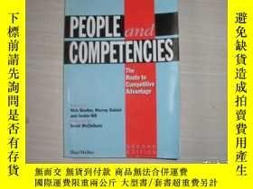 二手書博民逛書店PEOPLE罕見AND COMPETENCIES:The route to competitive advanta