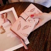 韓版時尚錢包百搭簡約休閒長款錢夾卡位手機包女包【非凡上品】h479