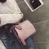 鍊條小包包女新款簡約鎖扣燈芯絨小方包秋冬季手提單肩斜挎包 雲雨尚品