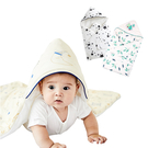 muslin tree秋冬嬰兒抱被 信封式全棉新生兒襁褓包巾-JoyBaby