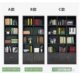 書櫃櫃子自由組合儲物櫃帶門書櫃書架簡約現代置物櫃客廳書櫃書櫥qm    JSY時尚屋