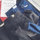 2019新款韓版加絨加厚牛仔褲女帶絨高腰顯瘦冬季厚款外穿加棉小腳