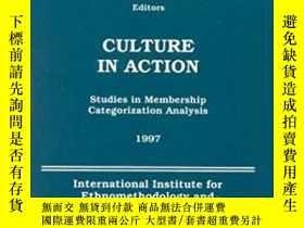 二手書博民逛書店Culture罕見In Action: Studies In Membership Categorization
