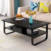 茶幾 茶幾簡約 客廳茶桌茶台簡約現代創意小戶型小桌子ins簡易家用邊桌RM