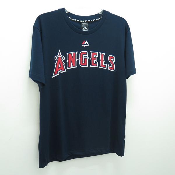 MLB 創信代理 洛杉磯天使隊 OHTANI 大谷翔平 T恤 正貨 6760217580 男款 藍【iSport愛運動】