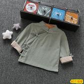 童裝到男寶寶上衣服周半男童秋季T恤半小孩套頭漢服 炫科技