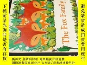 二手書博民逛書店the罕見fox family狐狸的一家 英文5919