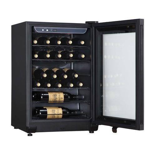 «免運費»Haier 海爾 24瓶 電子式恆溫儲酒冰櫃 JC-86GOB【南霸天電器百貨】