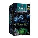 Dilmah 帝瑪 藍莓香草紅茶 茶包 無咖啡因 2g*20入/盒-【良鎂咖啡精品館】