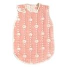 嬰兒防踢被背心 日本製六層紗 0-3歲 氣質粉綿羊   Hoppetta(新生兒/寶寶/初生兒/嬰幼兒)