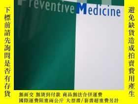 二手書博民逛書店Preventive罕見Medicine Volume 73Y1