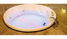 【麗室衛浴】國產 H-374 壓克力正圓造型浴缸  160*160*60CM