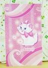 【震撼精品百貨】The Aristocats Marie 迪士尼瑪莉貓~卡片-粉愛心(小)