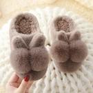 兒童棉拖鞋 兒童棉拖鞋2020冬季新款寶寶防滑居家毛毛鞋男女童室內親子保暖鞋 莎瓦迪卡