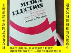 二手書博民逛書店The罕見Mass Media Election How Americans Choose Their Presi