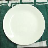 美國【CORELLE】康寧 純白6吋平圓餐盤  BD-106-N