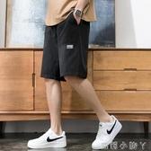 短褲男士夏季2020年潮流帥氣百搭休閒運動褲子寬鬆薄款直筒五分褲 蘿莉小腳丫