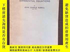 二手書博民逛書店The罕見Theory of Ordinary Differen