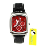 【卡漫城】 Snoopy 手錶 紅 ㊣版 強化水晶 史努比 史奴比 女錶 男錶 月曆功能 日期 星期 五折出清