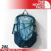 【The North Face 28L 15吋電腦背包《背殼藍/普魯士藍》】A7JX-D4X/電腦包/旅行包/後背包/休閒★滿額送