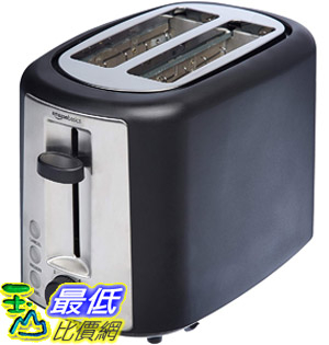 [8美國直購] 烤麵包機 AmazonBasics 2 Slice Extra Wide Slot Toaster - Black B072P11H8L