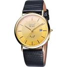 Ogival 愛其華 奢華典藏18K金腕錶-金/37mm 1203-1MK
