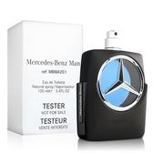 Mercedes Benz 賓士 王者之星男性淡香水-Tester(100ml)【ZZshopping購物網】