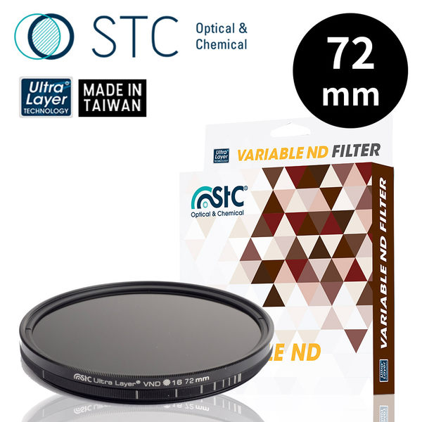 【STC】Variable ND16~4096 Filter 72mm 可調式減光鏡