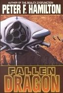 二手書博民逛書店 《Fallen Dragon》 R2Y ISBN:0446527084│Aspect