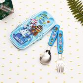 *妮好快樂*韓國直送_POLI救援小英雄兒童湯匙+叉子組盒裝2款