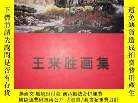 二手書博民逛書店S23罕見王來勝畫集Y16651 王來勝 天津人民美術出版社 出