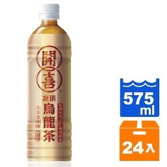 開喜 凍頂烏龍茶-清甜 575ml (24入)/箱【康鄰超市】