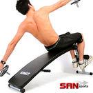 仰臥起坐板│【SAN SPORTS】弧形加長版仰臥板健腹器健身器材運動健腹機青花魚推薦哪裡買