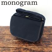 帆布側背包(mini)-海軍藍 相機包 隨身包【日本 monogram】可放微單眼相機