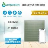 孔劉代言款Coway AP-0808KH 抗敏型【Original life】空氣清淨機濾網 長效可水洗
