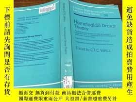 二手書博民逛書店Homological罕見Group TheoryY171500