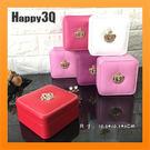 首飾盒飾品盒隨身攜帶飾品盒小巧皇冠水鑽裝飾公主風-紅/粉/白/桃/紫/粉白【AAA3815】