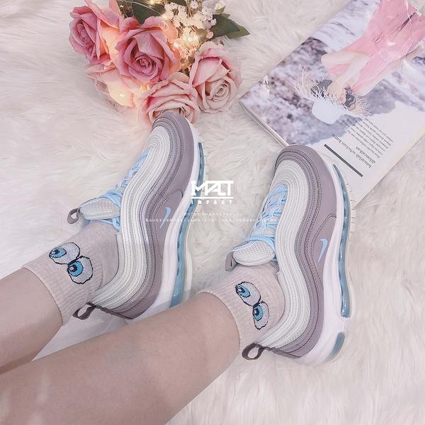 IMPACT Nike Air Max 97 W Spruce Aura 粉 藍 氣墊 女鞋 921733-018