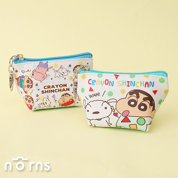 日貨蠟筆小新皮革T型零錢包- Norns 日本正版 船型收納包 睡衣造型 小白 動感超人 左衛門
