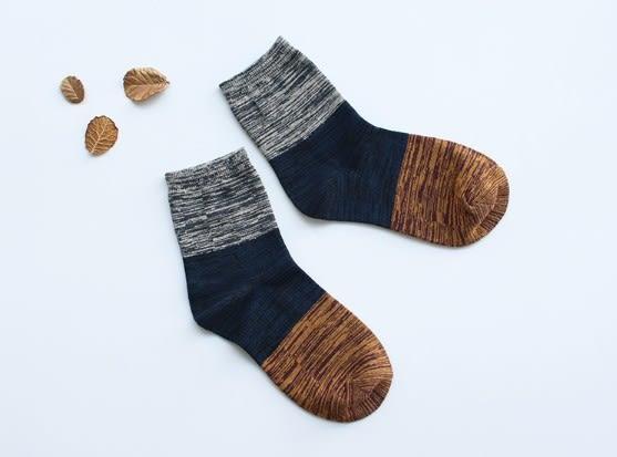 [協貿國際]秋冬季彩色全棉短襪