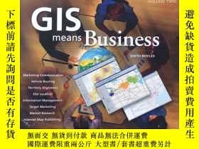 二手書博民逛書店Gis罕見Means BusinessY261601 David