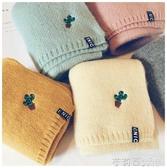 兒童圍巾韓版潮小孩男女童純棉寶寶圍巾秋冬季針織保暖嬰兒圍脖 茱莉亞