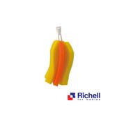 Richell利其爾 - 360度旋轉可拆式奶瓶刷替換刷頭