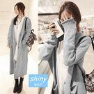 【V1258】shiny藍格子-暖暖秋冬...