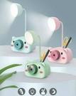 多功能LED相機動物造型筆筒檯燈